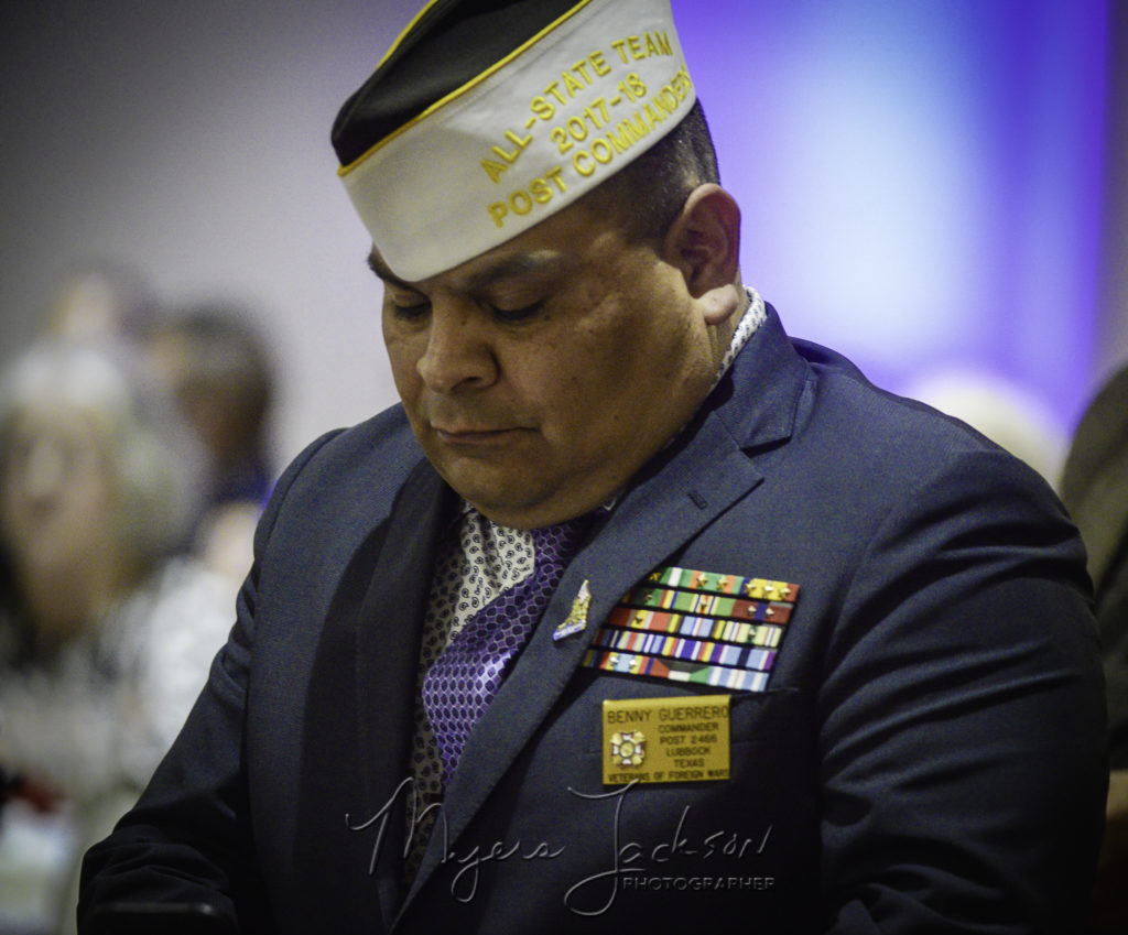 Benny Guerrero at the  Medal of Honor Recipients Honored in Odessa