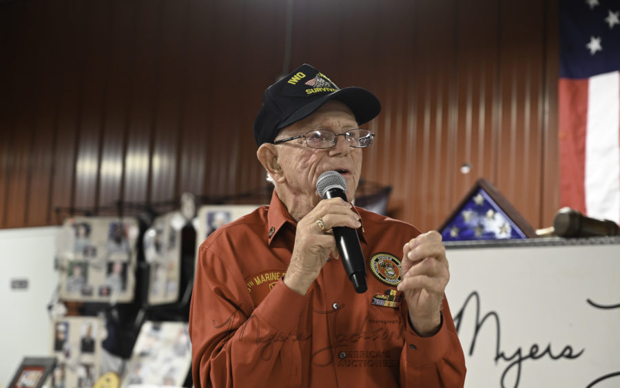 Don Graves Iwo Jima Survivor ... Myers Jackson Photographer